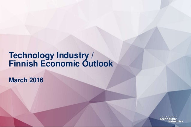 Finnish technology industry, March 2016