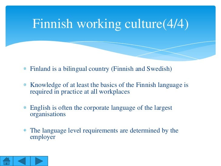 Finnish working culture
