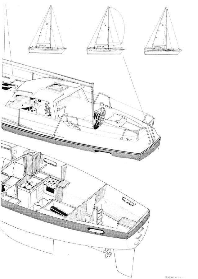 Finnsailer 38 Slide 3