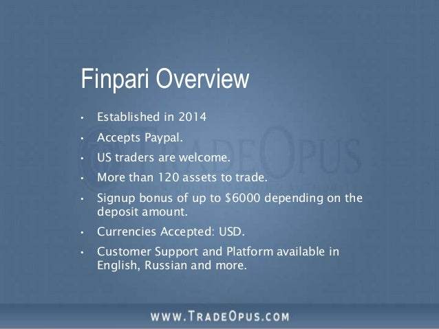 Is binary options trading for youtube