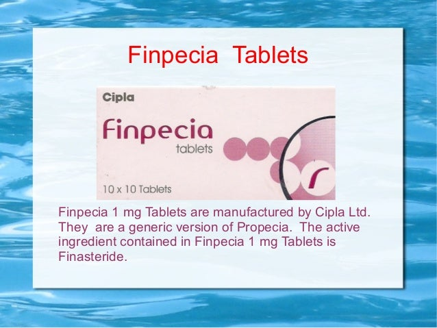 Finpecia Generic Without Prescription