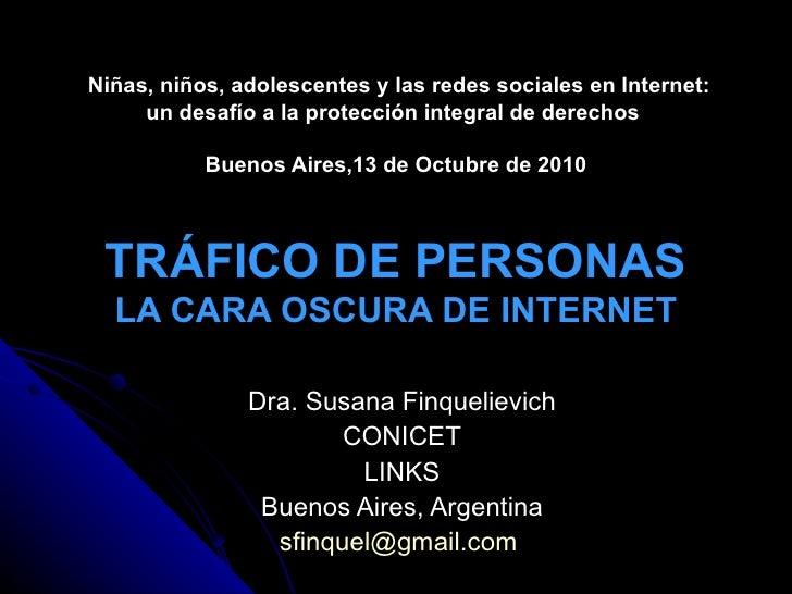 Niñas, niños, adolescentes y las redes sociales en Internet: un desafío a la protección integral de derechos    Buenos A...
