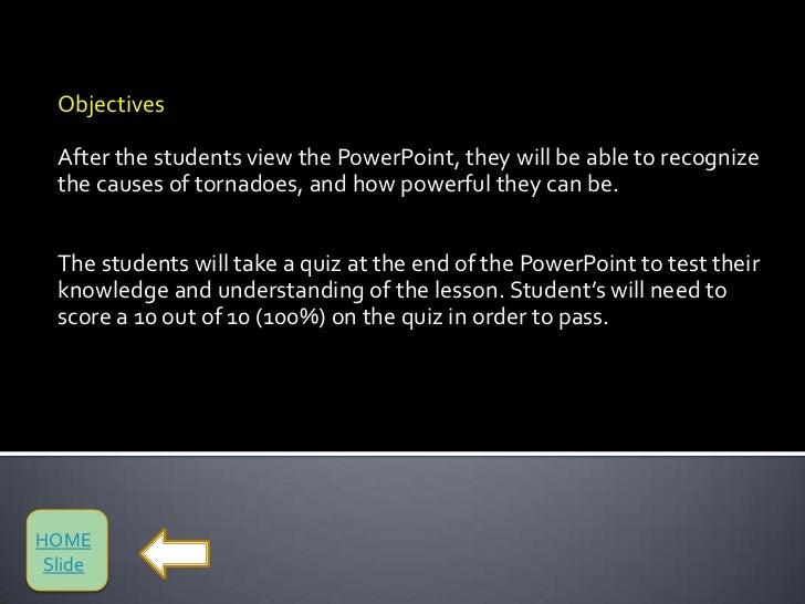 Tornado Powerpoint