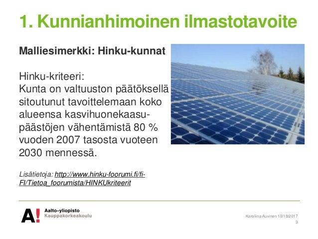 Top Ten vinkit kunnille aurinkoenergian ja energiatehokkuuden edistämiseksi Slide 3