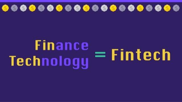 The Fintech Revolution Slide 2