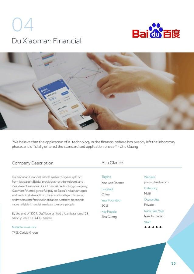 Fintech100 2018, KPMG report