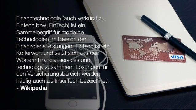 Payment und Fintech in Deutschland. Versuch einer Übersicht Slide 2