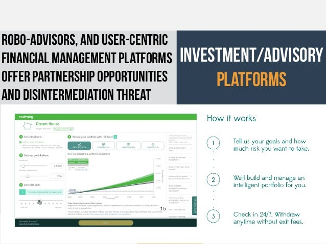 © Julian Levy - May 2016 investment/advisory platforms robo-advisors, and user-centric financial management platforms offe...