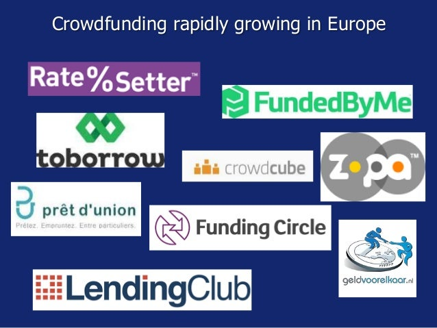 Crowdfunding growth 2012-2015 USD 34 bln E
