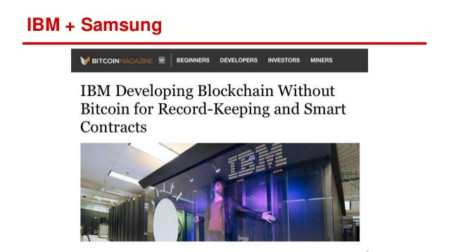IBM + Samsung