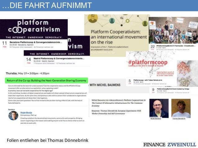 …DIE FAHRT AUFNIMMT Folien entliehen bei Thomas Dönnebrink
