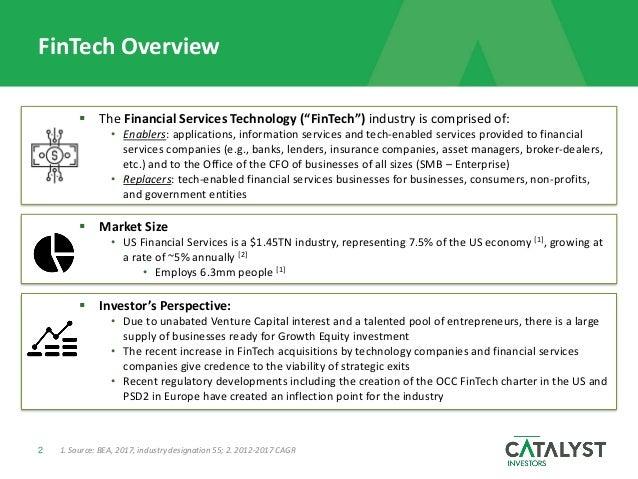 FinTech Market Overview Slide 2