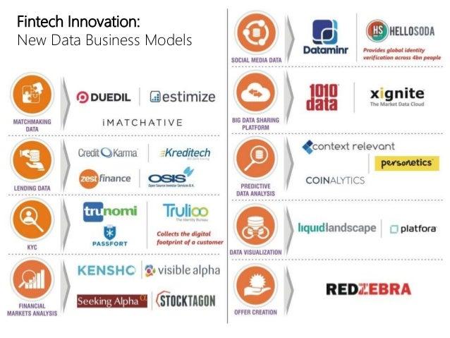 Fintech Innovation: New Data Business Models