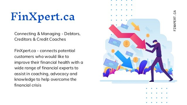 FinXpert.ca Connecting & Managing - Debtors, Creditors & Credit Coaches FinXpert.ca - connects potential customers who wou...
