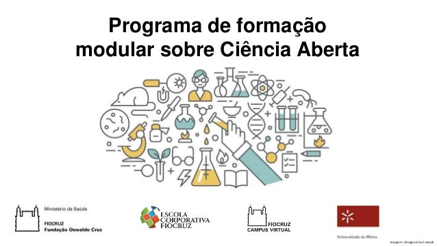 Programa de formação modular sobre Ciência Aberta Imagem: Designed by Freepik