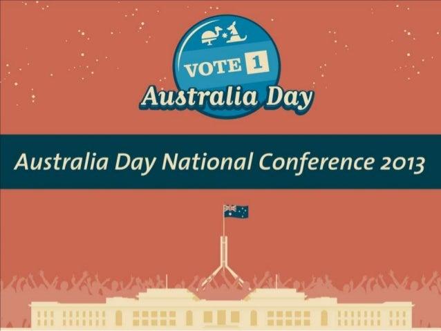 Fiona Dolan, National Manager for Australia Day