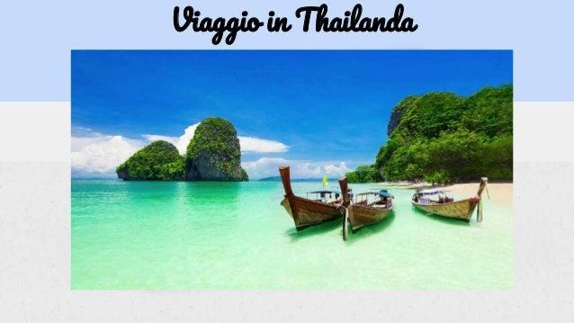 Viaggio in Thailanda