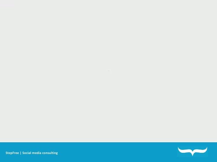 StepFree | Social media consulting