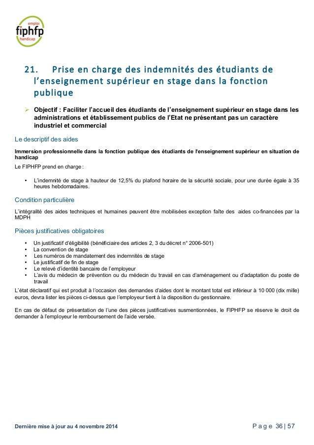 Fiphfp catalogue des aides - 12 5 du plafond horaire de la securite sociale ...