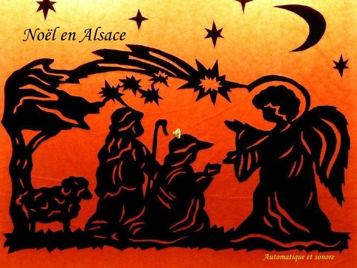 Noël en Alsace Automatique et sonore