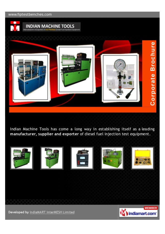 Indian Machine Tools has come a long way in establishing itself as a leading manufacturer, supplier and exporter of diesel...