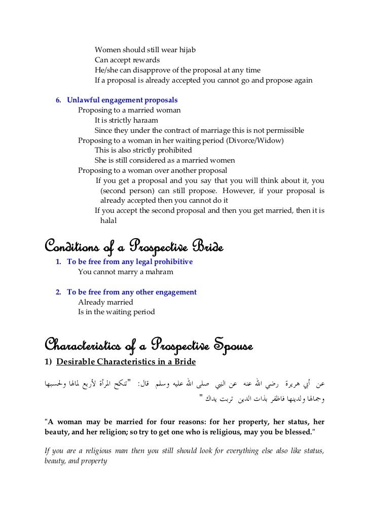 Essay about marriage proposal