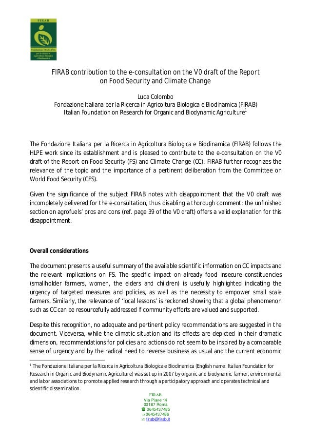 FIRABVia Piave 1400187 Roma 06454374850645437486 firab@firab.itFIRAB contribution to the e-consultation on the V0 draft...