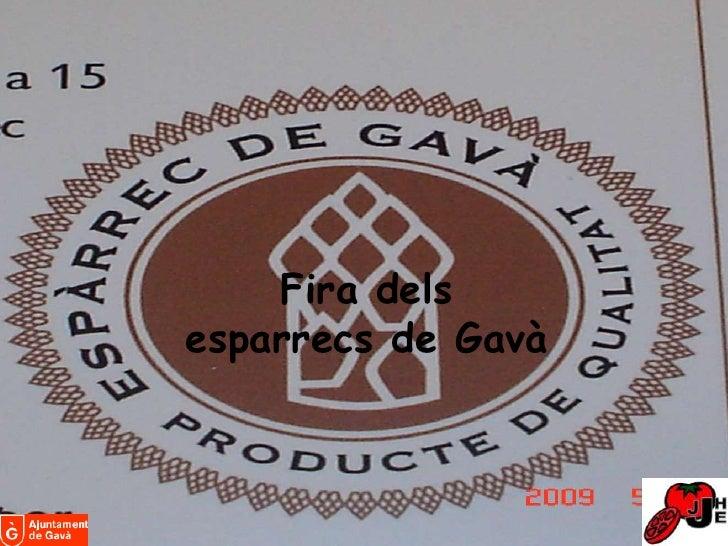 Firadelsesparrecs de Gavà<br />