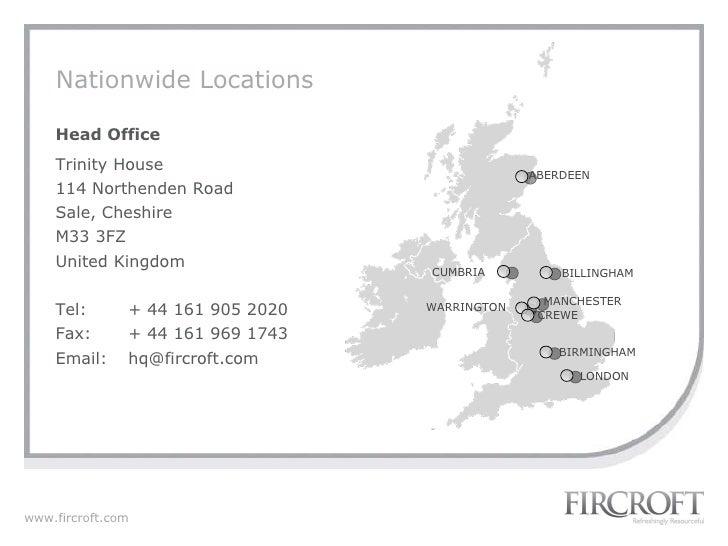 Fircroft Company Presentation