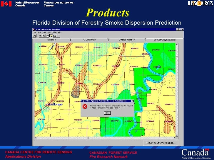 Canada S National Forest Fire Information Syatem