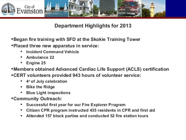Fire Department Natural Gas Training
