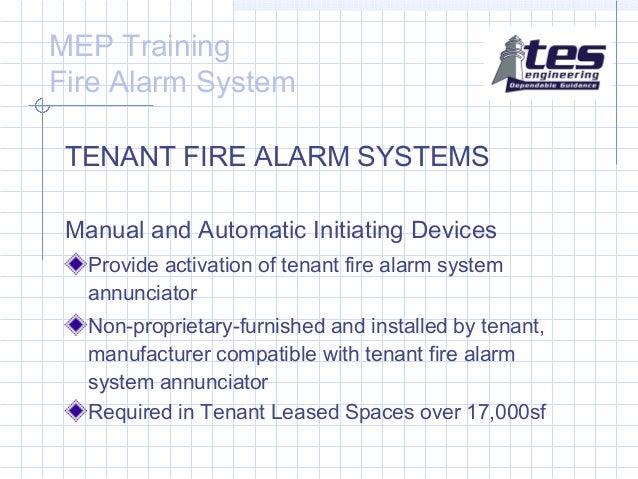 Fire alarm internal