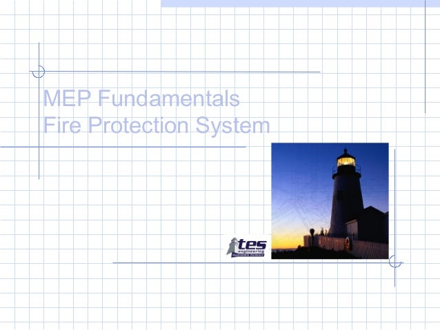 MEP Fundamentals Fire Protection System