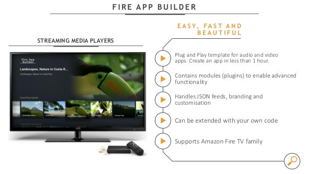 Developing Android Apps for TV in Minutes with Amazon Fire