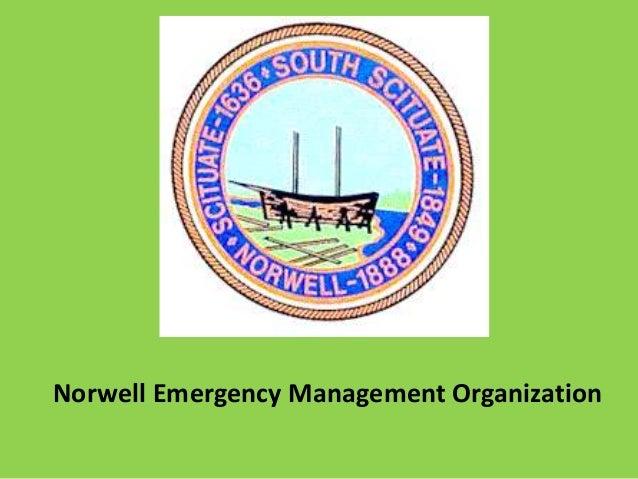 Norwell Emergency Management Organization