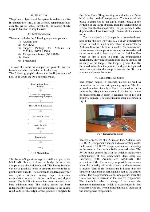 Fire Detection Using MATLAB