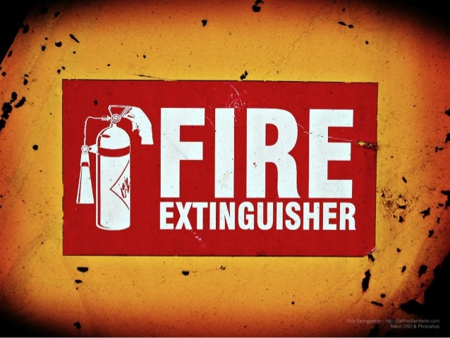 A fire extinguisher is an active fire protection tool used to extinguish or manage small fires in crisis circumstances.