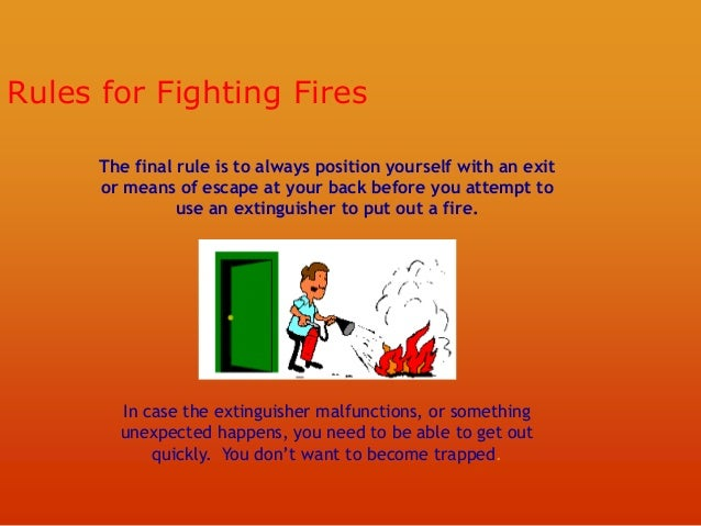 Fire Fighting Training Sessions Ppt