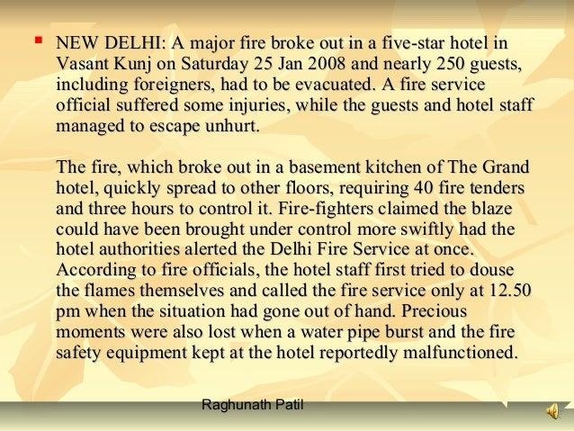 Fire  fighting presentation Slide 3