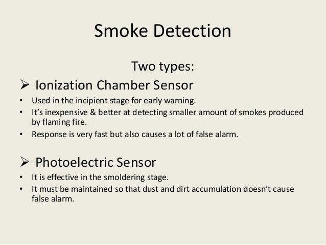 Fire Flame Amp Smoke Detectors