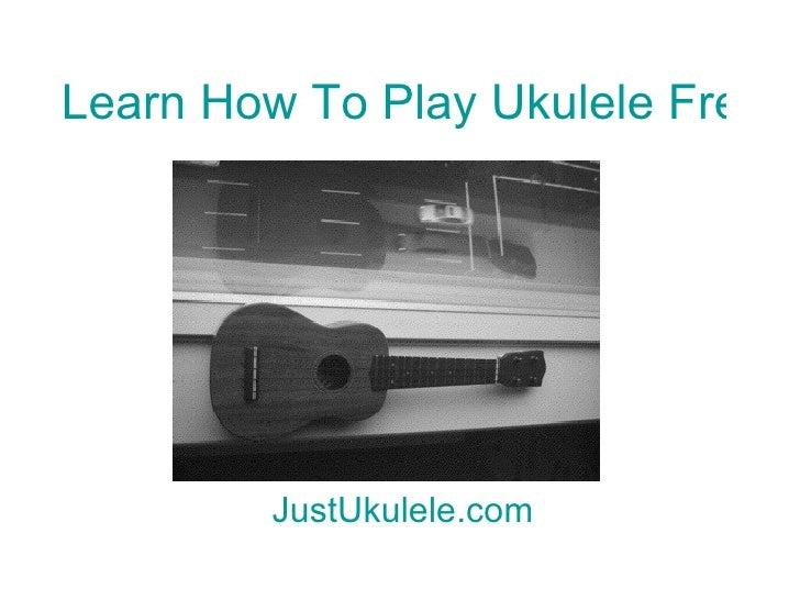 Fireflies ukulele chords