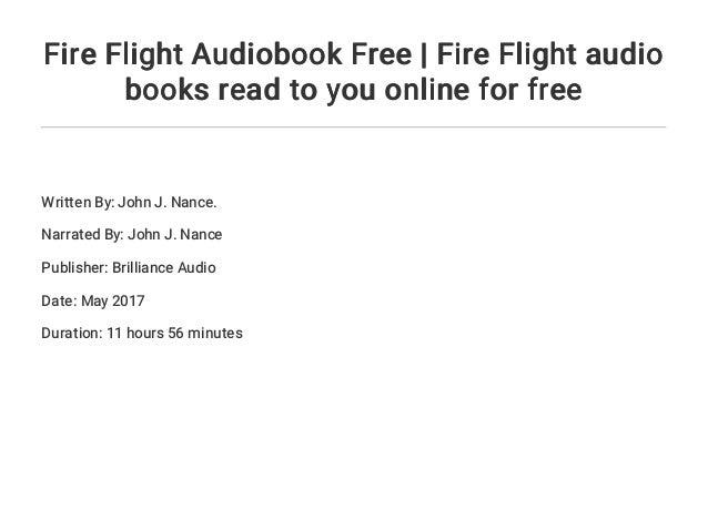 fire flight nance john j