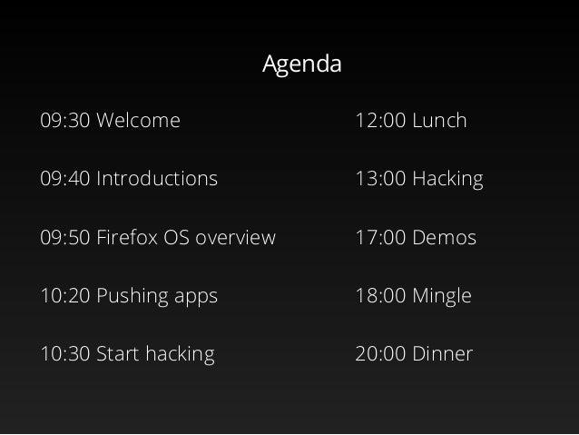 Firefox OS workshop, Colombia Slide 2