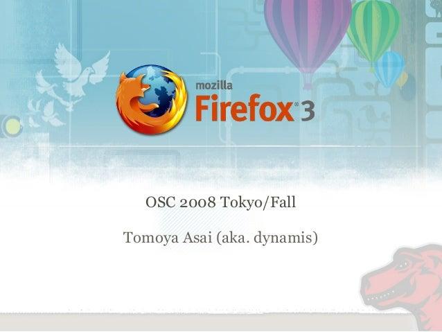 OSC 2008 Tokyo/Fall Tomoya Asai (aka. dynamis)