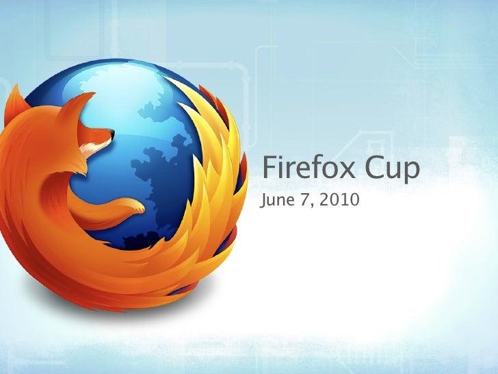 Firefox Cup June 7, 2010