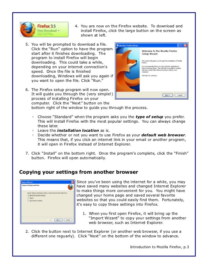 Intro to Firefox