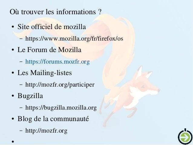 Lesbuildscommunautaires ● http://builds.firefoxos.mozfr.org ● http://builds.firefoxos.mozfr.org/doc/fr/majfirmware...