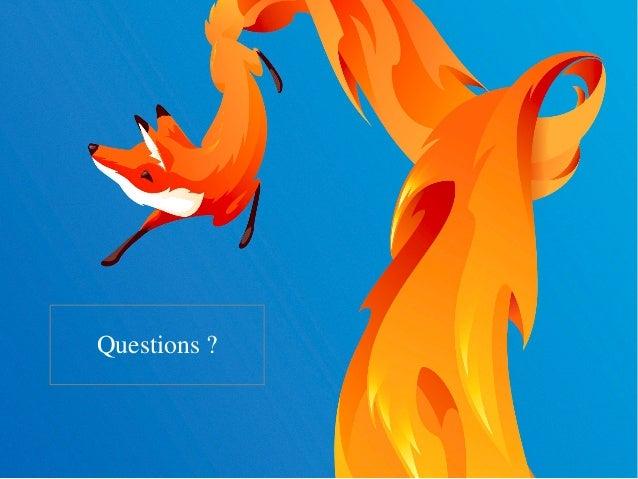 Firefox os et vie privee - RMLL 2015