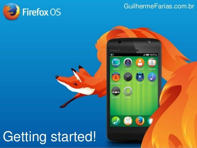 Getting started! GuilhermeFarias.com.br