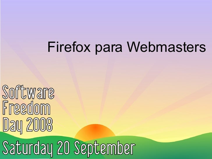 Firefox para Webmasters